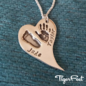 Hand, Foot or Paw Print Charms