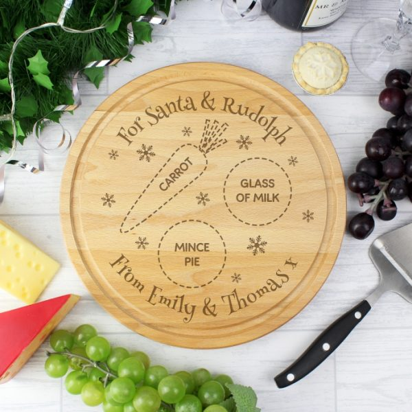 Wooden Personalised Christmas Eve Board