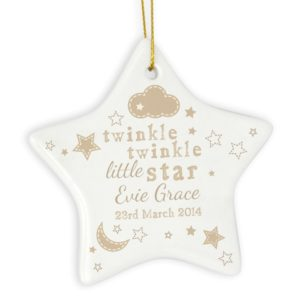 Twinkle Twinkle Little Star Decoration